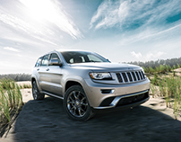 Jeep Grand Cherokee - CGI & Retouching
