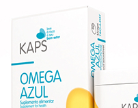 Kaps Food Supplements Packaging