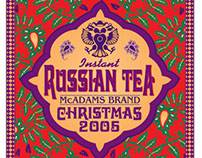 Russian Tea Label 2005