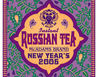 Russian Tea Label 2006