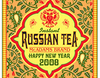 Russian Tea Label 2008