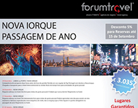 Design Gráfico - Forum Travel