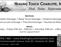 WInter 2011 ad - Healing Touch Charlotte, Inc.