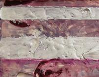 Untitled (pink encaustic)