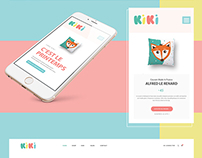 WEBDESIGN - Site e-commerce - KIKI
