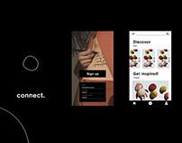 """Connect"" App Design"