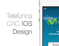 Telefonica CAC IOS Design