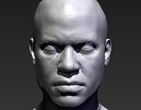 African American Male Sculpt