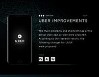 Uber improvements