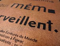 Mémo - New museum identity