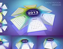 Pop-up calendar 2013