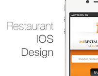 Restaurant IOS Design
