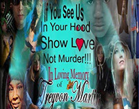 In Loving Memory of Trayvon Martin of Florida