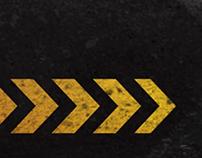 Chevron Motion Graphic Background Design