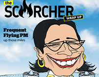 EDITORIAL DESIGN-The Scorcher Wrap Up