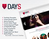 DAYS | Creative Portfolio Template