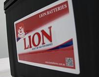 Lion Batteries Re-Branding