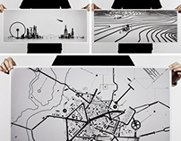 100copies  - Cityscape, Terrain & Road Map