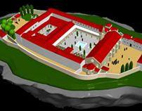 Monastery of Santa Clara-a-Velha 3D modeling
