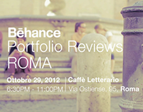 Behance Portfolio Review Roma / Viral