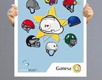 Gamesa posters
