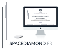 Space Diamond : A new logo and website