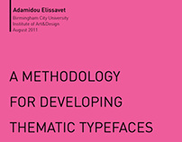 Thematic Typefaces