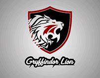 Gryffindor Lion Logo
