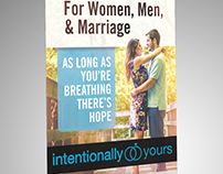Intentionally Yours - Retractable Banner Design