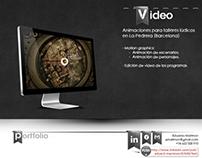 Video Creations for Barcelona (La Pedrera)