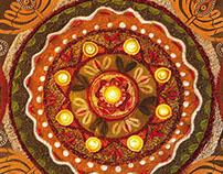 Nando's Diwali Rangoli