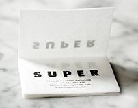 Super Super Gastro Bar Identity