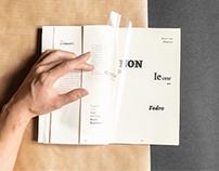 Vox type classification | Editorial design