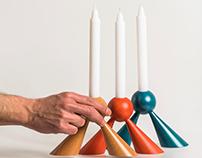 Emissive Candle Holder