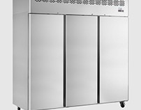 Interlevin CAF1390 1390 Ltr Solid Door Freezer