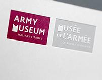 Army Museum Halifax Citadel / Branding