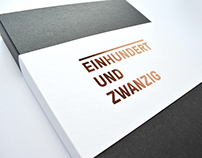 einhundertundzwanzig – 120 days of paperplay