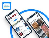 Flash News : Convenient Mobile App for Latest News