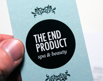 Business Cards / Branding - The End Product Spa