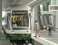 Augsburg Train Station - 3D Visualisation