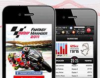 MotoGP Fantasy Manager UI