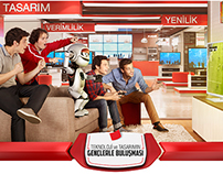 Arçelik Household Appliances - Store TVC