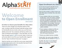 AlphaStaff Benefits Open Enrollment