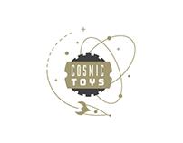 Cosmic Toys Store Branding