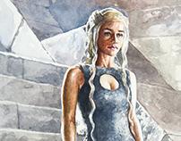 Daenerys Targaryen - Watercolor
