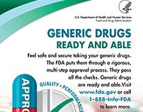 FDA Generic Drugs Print Ad