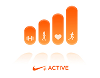 Nike+ Active Activity View