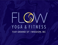 Brand Identity for FLOW Yoga & Fitness in Mission, B.C.