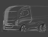Transportation Sketches - 2