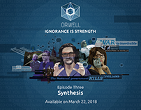 Title cards for Orwell - Ignorance is Strength